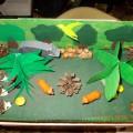 «Дикие животные». Макет для детского сада.