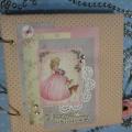Моё увлечение. Фотоальбом для новорожденной в технике «скрапбукинг»