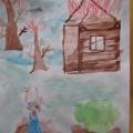Конспект НОД по рисованию «Иллюстрация к стихотворению Л. Тасси «Оборванного мишку утешала» в подготовительной к школе группе