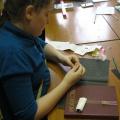 Плетение именных браслетов из бисера