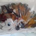 Фотоотчет с выставки поделок из природного материала «Краски Осени»
