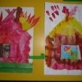 Выставка детско-родительских работ «Теремок для любимого сказочного героя»