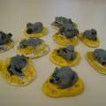 Мастер-класс по лепке из солёного теста «Мышка-малышка на сыре»