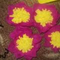 Мастер-класс «Цветок из гофрированной бумаги»
