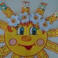 «Мы Весну-красу встречаем!»— оформление центральной стены в группе «Солнышко»