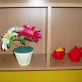 Мастер-класс «Цветы в горшочке»