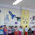 Физкультурные развлечения ко Дню космонавтики «Выше звезд» в старшей группе.