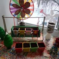 Фотоотчет «Ай, качи, качи, качи или идеи, как оформить огород на окне»