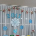 «Новогоднее настроение». Оформление группы детского сада