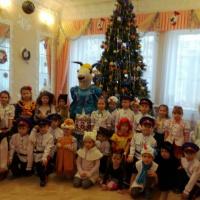Фотоотчет «Коляда, коляда, отворяй ворота!» Сетевое взаимодействие с детскими садами города Новочеркасска