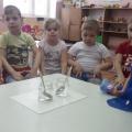 Фотоотчёт по экспериментированию в младшей группе по теме «Вода».