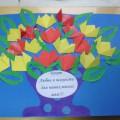 Букет для милых мам. Оригами. Мастер-класс