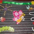Дидактическая игра-тактильный коврик «Кто в листике живет»