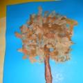 Мастер-класс по изготовлению панно из листьев «Золотая осень»