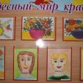 Выставка детских рисунков в честь 8 Марта «Мамочка, мамуля, как тебя люблю я!»