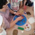 Конспект занятия по лепке из соленого теста «Пирожные для игры в «Магазин»