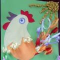 Мастер-класс по аппликации из цветной бумаги «Раскрасавец петушок»