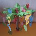 Дидактическое пособие по ФЭМП в форме игрового макета «Озорные обезьянки на пальме»