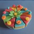 Игровое дидактическое пособие «Торт» из нетрадиционного материала