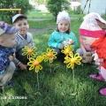 Мастер-класс по изготовлению объемной поделки из синельной проволоки «Солнышко-цветочек»