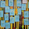 Рисование букета с ромашками гуашью. Фотоотчет детского творчества