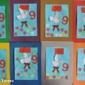 Мастер-класс по изготовлению поздравительной открытки к 9 Мая с ИКТ