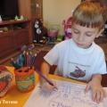 Рисуем и развиваемся. Фотоотчет о детском творчестве