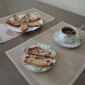 Мои кухонные фотозарисовки. Рецепт приготовления яблочного штруделя