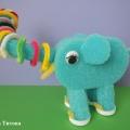 Дидактическая игрушка «Слон» с сюрпризом