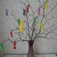 Мастер-класс из синельной проволоки для совместного творчества детей и родителей «Осенняя композиция»