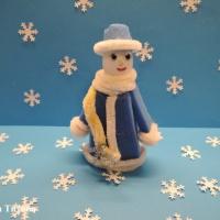 Мастер-класс «Новогодняя игрушка «Снегурочка»