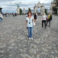 Фотозарисовки Будапешта «Президентский дворец с почетным караулом»