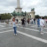 Фотозарисовки Будапешта «Продолжение экскурсии одного дня. Площадь Героев»