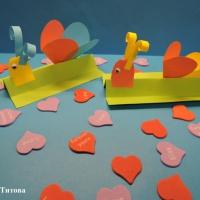 Мастер-класс поделки из бумаги «Улиточка с сердечком»