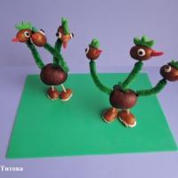 Детский мастер-класс из природного материала и синельной проволоки по изготовлению сказочного персонажа Змея Горыныча