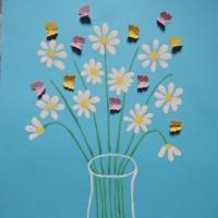 Мастер-класс по рисованию акварельными красками букета из ромашек для детей старшего дошкольного возраста