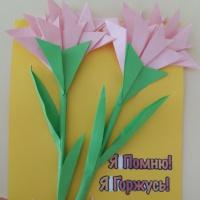 Детский мастер-класс по оригами «Открытка ветерану»
