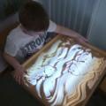 Конспект психологического занятия по рисованию песком «Море» для детей 6–7 лет