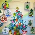 Мастер-класс «Рождественская ёлка из ладошек»