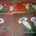 Фотоотчет «Работы воспитанников кружка «Умелые ручки» в средней группе»