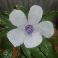 Мастер-класс «Цветок из ткани для украшения зала»