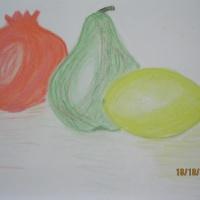 Консультация для родителей и педагогов «Рисование с натуры фруктов пастелью»