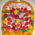 Отчёт о проделанной работе с детьми старшей группы к 8 марта «Мамочка любимая моя!»