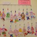 Фотографии по оформлению помещений детского сада творческими работами детей