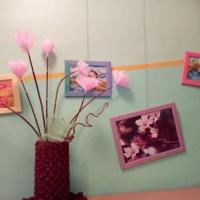 Мастер-класс «Цветы из бросового материала»