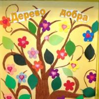 Дидактическое пособие «Дерево добра»