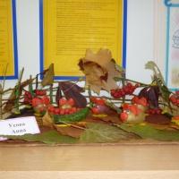Фотоотчёт о выставке совместного творчества «Осенняя фантазия»
