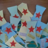 Мастер-класс по изготовлению подарка на День защитника Отечества