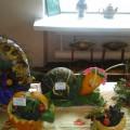 Фотоотчет «Осенняя выставка букетов и поделок из природного материала»