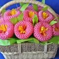 Авторский мастер-класс «Корзина с цветами»